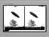 view [Dirigible balloon in flight.] 9842 interpositive digital asset: [Dirigible balloon in flight.] 9842 interpositive.