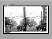 view [Street scene.] 9874 Interpositive digital asset: [Street scene.] 9874 Interpositive.