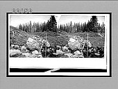 view Nature's own sweet beverage, Paradise Park, foot of Mt. Rainier. [Active no. 9935 : stereo interpositive.] digital asset: Nature's own sweet beverage, Paradise Park, foot of Mt. Rainier. [Active no. 9935 : stereo interpositive.]