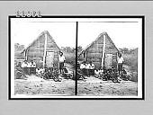 view Prayer service at mission schoolhouse, M'binza, near Leopoldville. 9948 interpositive digital asset: Prayer service at mission schoolhouse, M'binza, near Leopoldville. 9948 interpositive.