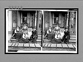view Our honored ex-President Grover Cleveland, with his family, at home, Princeton, N.J. [Active no. 10026 : stereo interpositive.] digital asset: Our honored ex-President Grover Cleveland, with his family, at home, Princeton, N.J. [Active no. 10026 : stereo interpositive.]