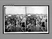 "view ""In the good old summer time,"" [sic] holiday crowds on beach, Coney Island, New York. [Active no. 10074 : stereo interpositive,] digital asset: ""In the good old summer time,"" [sic] holiday crowds on beach, Coney Island, New York. [Active no. 10074 : stereo interpositive,] 1907."