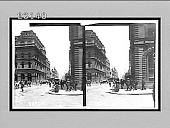 view George St., past Post Office (left) to Victoria Market, Sydney, N.S.W. [Active no. 10269 : stereo interpositive,] digital asset: George St., past Post Office (left) to Victoria Market, Sydney, N.S.W. [Active no. 10269 : stereo interpositive,] 1908.