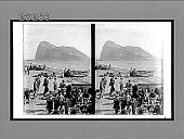 view Gibraltar, once the landmark of civilization's end, seen from the north. 10422 Interpositive digital asset: Gibraltar, once the landmark of civilization's end, seen from the north. 10422 Interpositive.