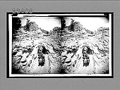 view Loads of gold coming down trail from Tomboy Mine to Telluride. [Active no. 10648 : stereo interpositive,] digital asset: Loads of gold coming down trail from Tomboy Mine to Telluride. [Active no. 10648 : stereo interpositive,] 1910.