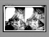 view Balcony House, Ruin Canon, and outlook S., Mesa Verde National Park. Caption no. 10654 : stereoscopic interpositive digital asset: Balcony House, Ruin Canon, and outlook S., Mesa Verde National Park. Caption no. 10654 : stereoscopic interpositive, 1910.