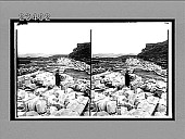 view Approach to Roman Theatre where St. Paul was denounced, Ephesus. Caption no. 10667 : stereoscopic interpositive digital asset: Approach to Roman Theatre where St. Paul was denounced, Ephesus. Caption no. 10667 : stereoscopic interpositive, 1910.