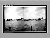 view Riding the surf of the rolling Pacific at Honolulu, Hawaiian Islands. Active no. 10684 : Stereo interpositive digital asset: Riding the surf of the rolling Pacific at Honolulu, Hawaiian Islands. Active no. 10684 : Stereo interpositive. 1910.