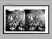 view Dining in the magnificent banquet-hall of Hotel Astor. [Active no. 10725 : stereo interpositive,] digital asset: Dining in the magnificent banquet-hall of Hotel Astor. [Active no. 10725 : stereo interpositive,] 1910.