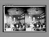 view In the cosy library of Andrew Carnegie's own home, Fifth Avenue. 10730 interpositive digital asset: In the cosy library of Andrew Carnegie's own home, Fifth Avenue. 10730 interpositive 1910.