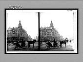 view [Street scene.] 10764 Interpositive digital asset: [Street scene.] 10764 Interpositive 1910.