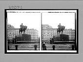 view [Alexander III equestrian monument in St. Petersburg.] 10766 interpositive digital asset: [Alexander III equestrian monument in St. Petersburg.] 10766 interpositive 1910.