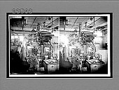 view Close view of a modern loom in a great woolen mill. 10799 Interpositive digital asset: Close view of a modern loom in a great woolen mill. 10799 Interpositive 1909.