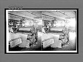 view Shearing the nap on woolen fabrics in a modern mill. 10802 interpositive digital asset: Shearing the nap on woolen fabrics in a modern mill. 10802 interpositive 1909.