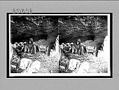 view In one of the limestone caves at Endor, home of the storied witch. 10942 Interpositive digital asset: In one of the limestone caves at Endor, home of the storied witch. 10942 Interpositive 1910.
