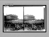 view West Point Cadets before north wing of the Capitol, Inauguration Day, 1913. [Active no. 11351 : stereo interpositive,] digital asset: West Point Cadets before north wing of the Capitol, Inauguration Day, 1913. [Active no. 11351 : stereo interpositive,] 1913.