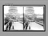 view Annapolis and West Point Cadets before the inauguration stand, Washington,D.C. [Active no. 11354 : stereo interpositive,] digital asset: Annapolis and West Point Cadets before the inauguration stand, Washington,D.C. [Active no. 11354 : stereo interpositive,] 1913.
