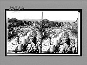 "view In splendid Ephesus; looking from theatre terrace to ""library."" Caption no. 11365 : glass stereoscopic interpositive digital asset: In splendid Ephesus; looking from theatre terrace to ""library."" Caption no. 11365 : glass stereoscopic interpositive."