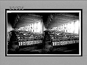 view Winding for the warp in an up-to-date plain silk weaving mill, Paterson, N.J. 11445 interpositive digital asset: Winding for the warp in an up-to-date plain silk weaving mill, Paterson, N.J. 11445 interpositive 1913.