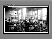"""view """"Picking the cloth"""" after weaving--scene in a modern silk mill, Paterson, N.J. [Active no. 11450 : stereo interpositive,] digital asset: """"Picking the cloth"""" after weaving--scene in a modern silk mill, Paterson, N.J. [Active no. 11450 : stereo interpositive,] 1913."""