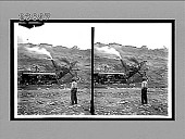 view A mighty excavating engine at work in the canal bottom. 11523 Interpositive digital asset: A mighty excavating engine at work in the canal bottom. 11523 Interpositive 1913.