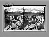 view Making the soft wool of the vicuna into rugs, La Paz, Bolivia. [Active no. 11536 : stereo interpositive,] digital asset: Making the soft wool of the vicuna into rugs, La Paz, Bolivia. [Active no. 11536 : stereo interpositive,] 1906.