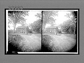 view [Large farm house with trees, New Hampshire. [Active no. 11548 : stereo interpositive.] digital asset: [Large farm house with trees, New Hampshire. [Active no. 11548 : stereo interpositive.] 1905.