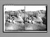 view Famous sculptured lion of Babylon--excavated from debris of centuries. [Caption no. 11802 : stereoscopic interpositive.] digital asset: Famous sculptured lion of Babylon--excavated from debris of centuries. [Caption no. 11802 : stereoscopic interpositive.]