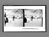 view [Skiers outdoors.] 11989 interpositive digital asset: [Skiers outdoors.] 11989 interpositive.