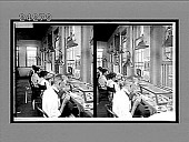 view [Men and women workers at a long table in factory], No. 12087 : Interpositive digital asset: [Men and women workers at a long table in factory], No. 12087 : Interpositive, 1915.