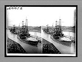 view [Line of ships in Panama.] 12323 interpositive digital asset: [Line of ships in Panama.] 12323 interpositive.