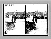 view [German tank, artillery pieces and automobiles in downtown plaza.] 14363 interpositive digital asset: [German tank, artillery pieces and automobiles in downtown plaza.] 14363 interpositive.