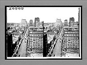 view [Early automobiles in city. Active no. 14572 : interpositive.] digital asset: [Early automobiles in city. Active no. 14572 : interpositive.]