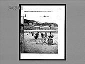view On the Llandudno beach, Wales. [Active no. 390 : interpositive,] digital asset: On the Llandudno beach, Wales. [Active no. 390 : interpositive,] 1896.
