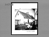 """view A farmyard on the """"Owld Sod,"""" County Kerry. 543 interpositive digital asset: A farmyard on the """"Owld Sod,"""" County Kerry. 543 interpositive."""