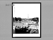 view [Dock scene.] 947 Interpositive digital asset: [Dock scene.] 947 Interpositive 1896.