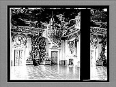 view Throne Room, Royal Palace, Berlin, with plate-laden sideboard and regal decorations. 1293 Interpositive digital asset: Throne Room, Royal Palace, Berlin, with plate-laden sideboard and regal decorations. 1293 Interpositive 1903