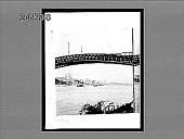 view [Bridge over river, Germany?] 1436 interpositive digital asset: [Bridge over river, Germany?] 1436 interpositive.