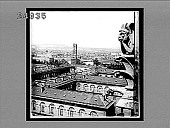view Looking north from the tower of Notre Dame--St. Jacques Tower and Montmartre Heights in distance--Paris. [Active no. 1559 : non-stereo interpositive,] digital asset: Looking north from the tower of Notre Dame--St. Jacques Tower and Montmartre Heights in distance--Paris. [Active no. 1559 : non-stereo interpositive,] 1905.