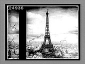 view Eiffel Tower (300 meters) 984 feet high, looking across the Seine from Trocadero, Paris. 1560 Interpositive digital asset: Eiffel Tower (300 meters) 984 feet high, looking across the Seine from Trocadero, Paris. 1560 Interpositive 1905.