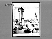 view [Paris Exposition.] No. 1640 : interpositive digital asset: Monumental Gate, grand entrance to the 1900 Exposition. 1639 Interpositive 1900.