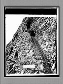 view An Alpine elevator to the clouds, Mt. Pilatus. 1745 interpositive digital asset: An Alpine elevator to the clouds, Mt. Pilatus. 1745 interpositive 1896