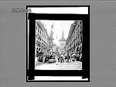 view Principal street and old Clock, Berne. 1754 Interpositive digital asset: Principal street and old Clock, Berne. 1754 Interpositive 1896.
