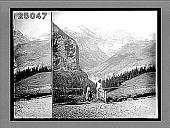 view The Breithorn (12,400 feet) and Tschingelhorn (11,748 feet), Upper Lauterbrunnen Valley. 1763 Interpositive digital asset: The Breithorn (12,400 feet) and Tschingelhorn (11,748 feet), Upper Lauterbrunnen Valley. 1763 Interpositive 1896.