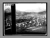 view Innsbruck and the Waldraster-Spitze, looking south, Tyrol. [Active no. 1942 : half-stereo interpositive.] digital asset: Innsbruck and the Waldraster-Spitze, looking south, Tyrol. [Active no. 1942 : half-stereo interpositive.]