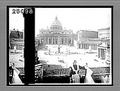 view St. Peter's and the Vatican--greatest of churches, greatest of palaces, Rome. 1970 Interpositive digital asset: St. Peter's and the Vatican--greatest of churches, greatest of palaces, Rome. 1970 Interpositive 1905.
