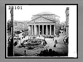 view Sanctuary and home of Art and Piety--Pantheon, Pride of Rome. [Active no. 1987 : half-stereo interpositive,] digital asset: Sanctuary and home of Art and Piety--Pantheon, Pride of Rome. [Active no. 1987 : half-stereo interpositive,] 1896.