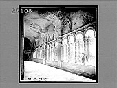 view Beautiful twisted columns, ancient cloisters of St. Paul's Rome. 2006 Interpositive digital asset: Beautiful twisted columns, ancient cloisters of St. Paul's Rome. 2006 Interpositive 1907.
