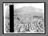 view Birdseye view of Naples and Vesuvius. 2011 Interpositive digital asset: Birdseye view of Naples and Vesuvius. 2011 Interpositive 1907
