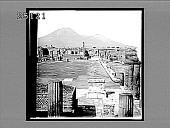 view The Forum of Pompeii and Vesuvius. 2020 Interpositive digital asset: The Forum of Pompeii and Vesuvius. 2020 Interpositive.
